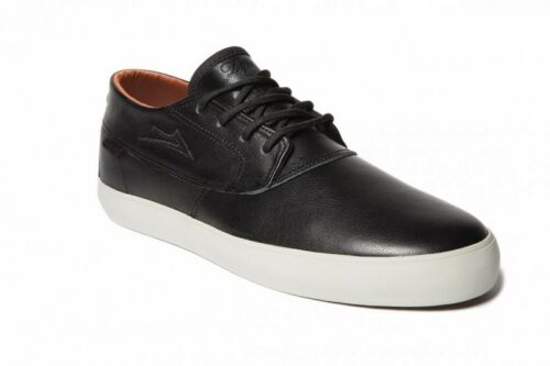 Lakai Camby Mid DQM Echelon Black/Brown Leather Men's Shoe sneakers Trainers
