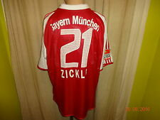 "FC Bayern München Adidas Matchworn Trikot 03/04 ""-T---Com"" + Nr.21 Zickler Gr.XL"
