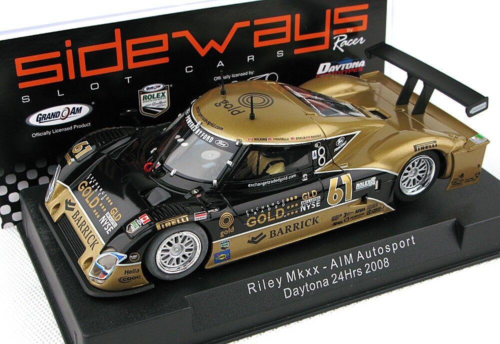 Hacia los lados SW02 RILEY MKXX Daytona 1 32 ranura de coche Nuevo Sellado en caso de exhibición