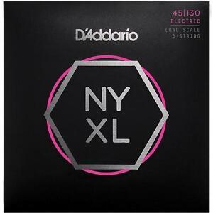 D-039-Addario-NYXL-5-String-Bass-Guitar-Strings-Regular-Gauge-45-130-Long-Scale