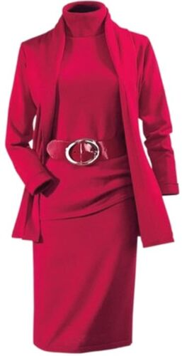 008187 6 cm de large bovins cuirs ceinture 75 cm Bernd Götz rouge classique Nouveau
