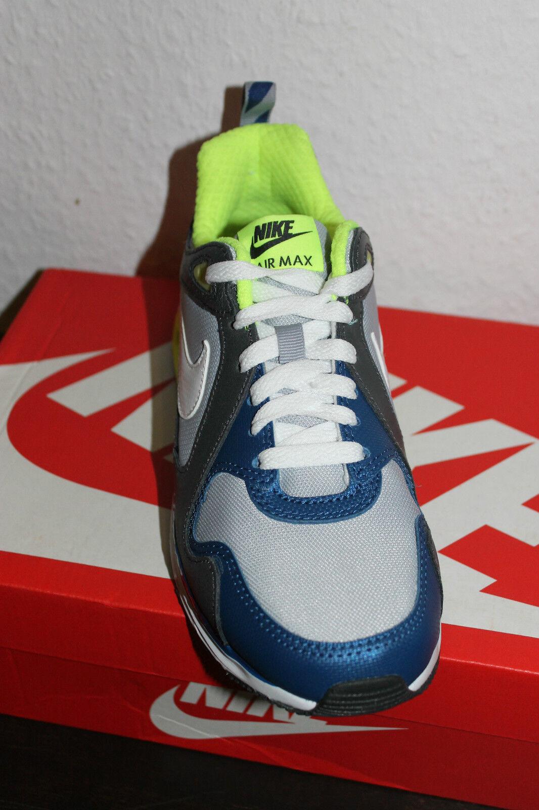Nike Air Max Trax Damen Running Schuhe 36,5 Grau Weiß Blau Größe 36,5 Schuhe 38 oder 38,5 316bbe