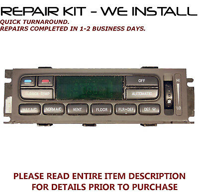 REPAIR KIT fits 1995-2002 Ford Explorer Climate Control A//C EATC />WE INSTALL/<