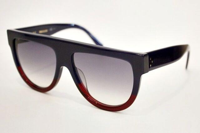 2e7709eea7f Celine 41026 s Fu55i Blue   Tortoise Shadow Aviator Sunglasses Lens  Category 2