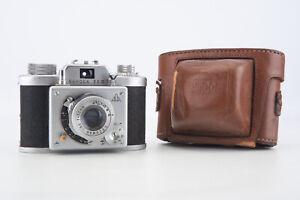 Samoca-35-II-35mm-Film-Camera-with-C-Ezumar-50mm-f-3-5-Lens-amp-Original-Case-V18