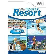 Wii Sports Resort (Nintendo Wii, 2009) COMPLETE disk/case/manual