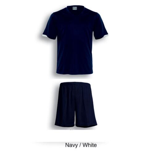 Unisex Adults Mens Womens Ladies Football Soccer Jersey Shirt /& Shorts Set Suite
