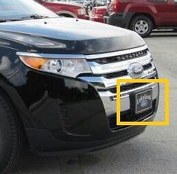 Image Is Loading Oem   Ford Edge Front License Plate