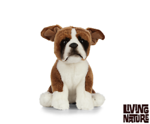 Living Nature Boxer Dog An450 Realistic Stuffed Animal Cuddly