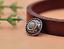 10X-Silver-Tone-Flower-Leather-Craft-Bag-Belt-Purse-Decor-Turquoise-Conchos-Set miniature 3