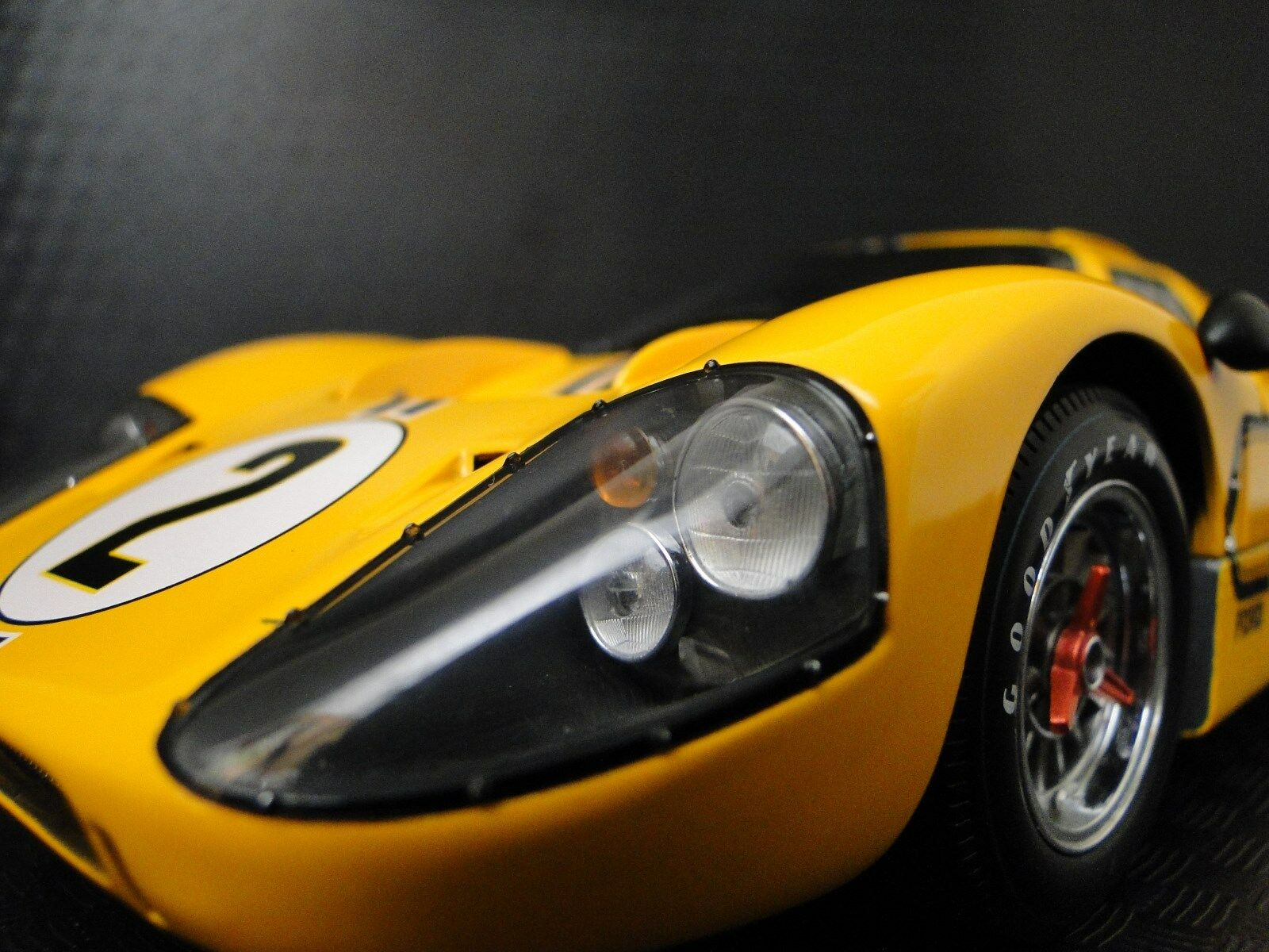 Racer GT40 Ford 1967 GT 1 Vintage Sport 64 Race Race Race 43 Car 24 Exotic 18 Metal 12 f09f0e