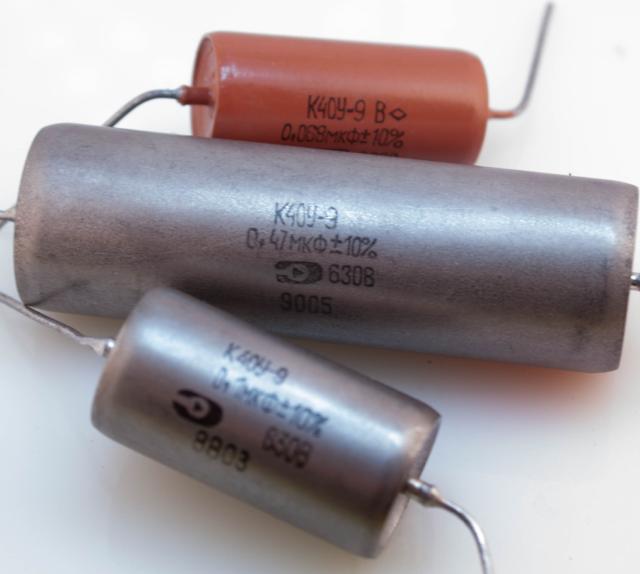 NOS! NEW K40Y-9 630V 0.1uF PIO capacitors Lot of 10 pcs