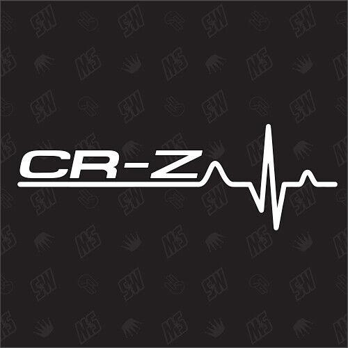 Tuning risingsun pegatinas Honda CR-Z cardíaco-sticker japón