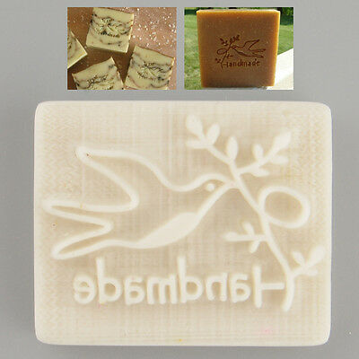 Pigeon Desing Handmade Yellow Resin Soap Stamping Mold Craft DIY Gift New