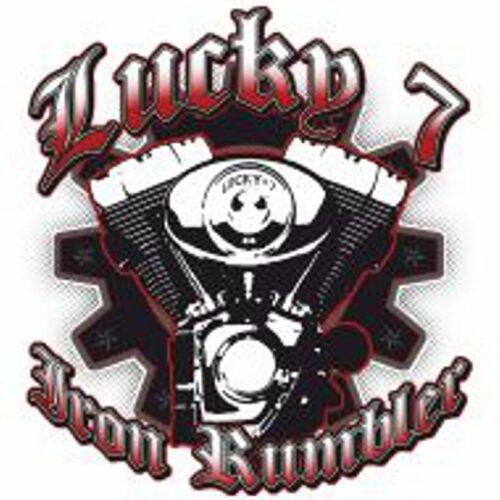 gris 7 Chopper Lucky Hd Iron Oldschoolmotiv travailleur Chemise Biker de Modᄄᄄle KFlJ1cT