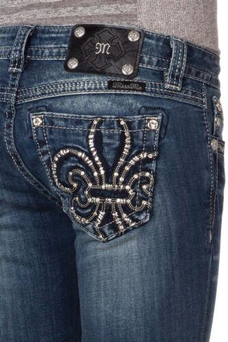 Cut Jp7021b2 main Jeans argent Me Lis Cut Miss Nwt la Fleur Boot Di en à O5qXvwvE