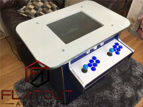 Arcade Cocktail Table Machine 1300 Retro Games 2 Player Gaming Cabinet UK Made