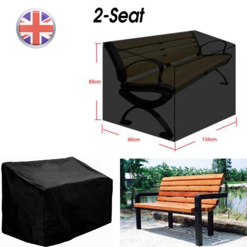 2 posti Panca IMPERMEABILE SEAT COVER Heavy Duty da giardino esterno protezione UV