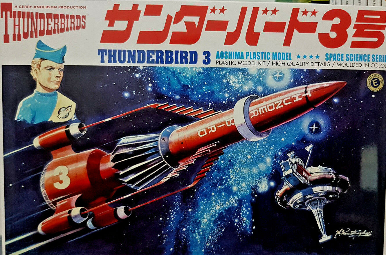 Thunderbirds 3 Il Missile Space Science - Scala 1:350 Aoshima Kit 11