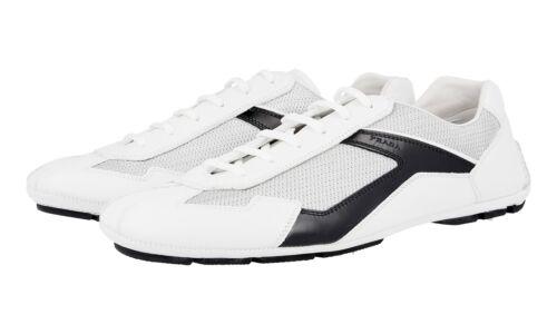8 Nouveaux 42 Bianco 5 Nero Chaussures 43 Luxueux 4e2791 5 Prada wq71xB1a