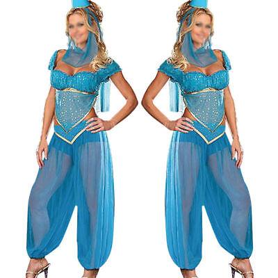 ALADDIN Princess JASMINE GENIE Costume Complete Set Size XL Women's 60% Off