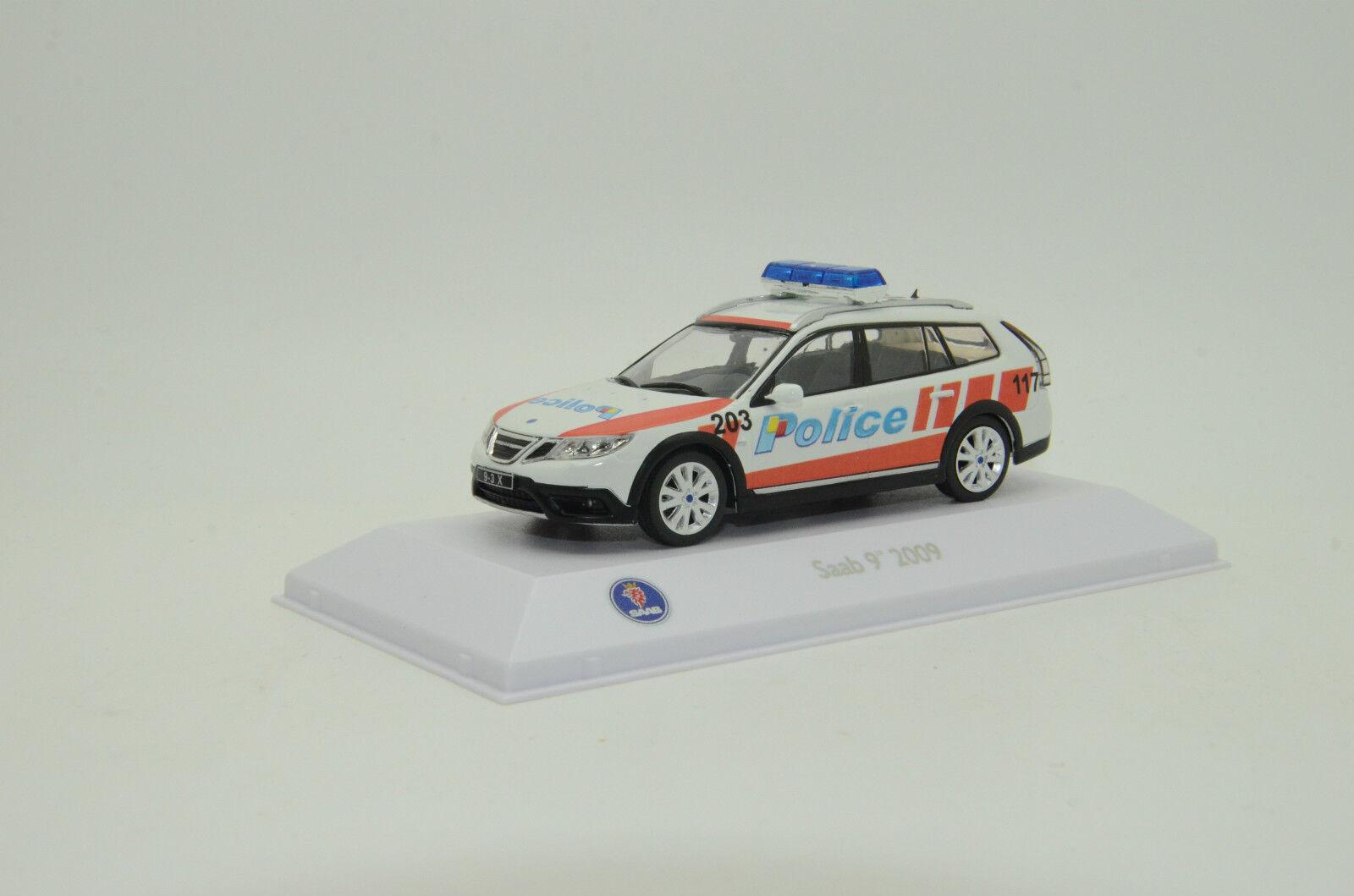 Rara Saab 9-3x 2009 suiza Ginebra policía Hecho a Medida 1 43