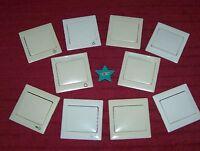 GIRA *NEU* Wippen Standard 70x70 Symbol Licht Klingel Tür Beschriftungsfeld #4H#
