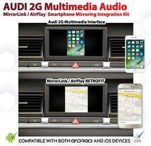 Audi-A8-D3-2G-MMi-android-iOS-AirPlay-MirrorLink-Google-Apple-GPS-Install-Kit