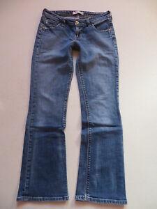 Levi-039-s-572-Bootcut-Jeans-Hose-W-29-L-30-USED-Vintage-Denim-Eingetragen