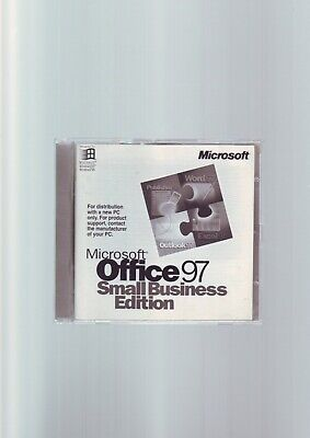 Microsoft Office 97 Small Business Edition MS//SBE//FULL