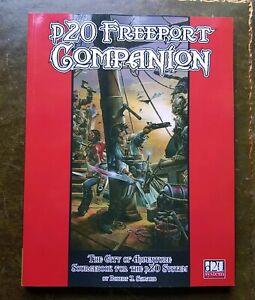 F20 Freeport Companion - Système D20 Rpg Donjons & Dragons Jeu de rôle Jeu de rôle