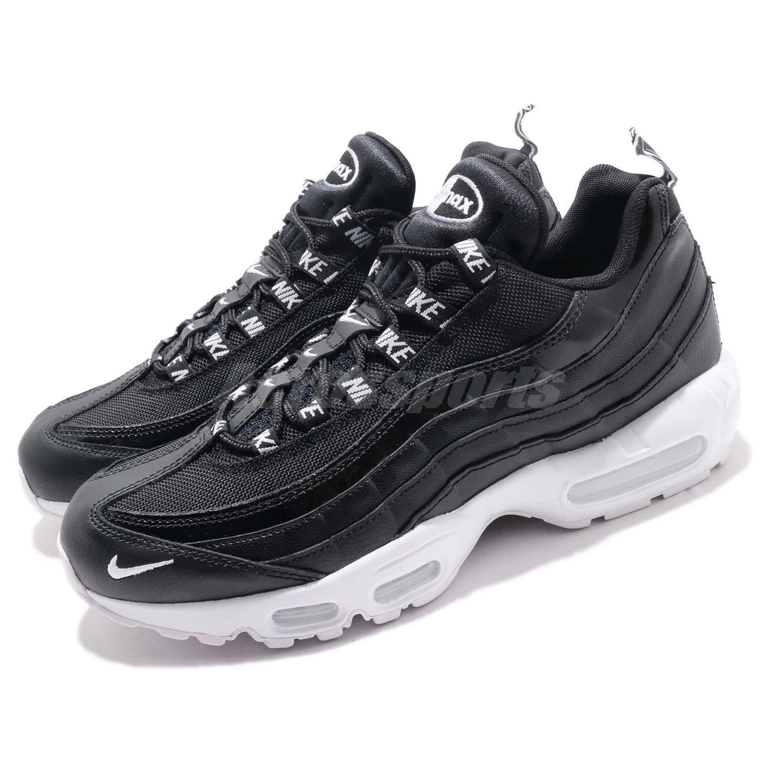Nike Air Max 95 PRM Overbranded nero bianca Men Running scarpe scarpe da ginnastica 538416-020 | Ottimo mestiere  | Uomini/Donne Scarpa
