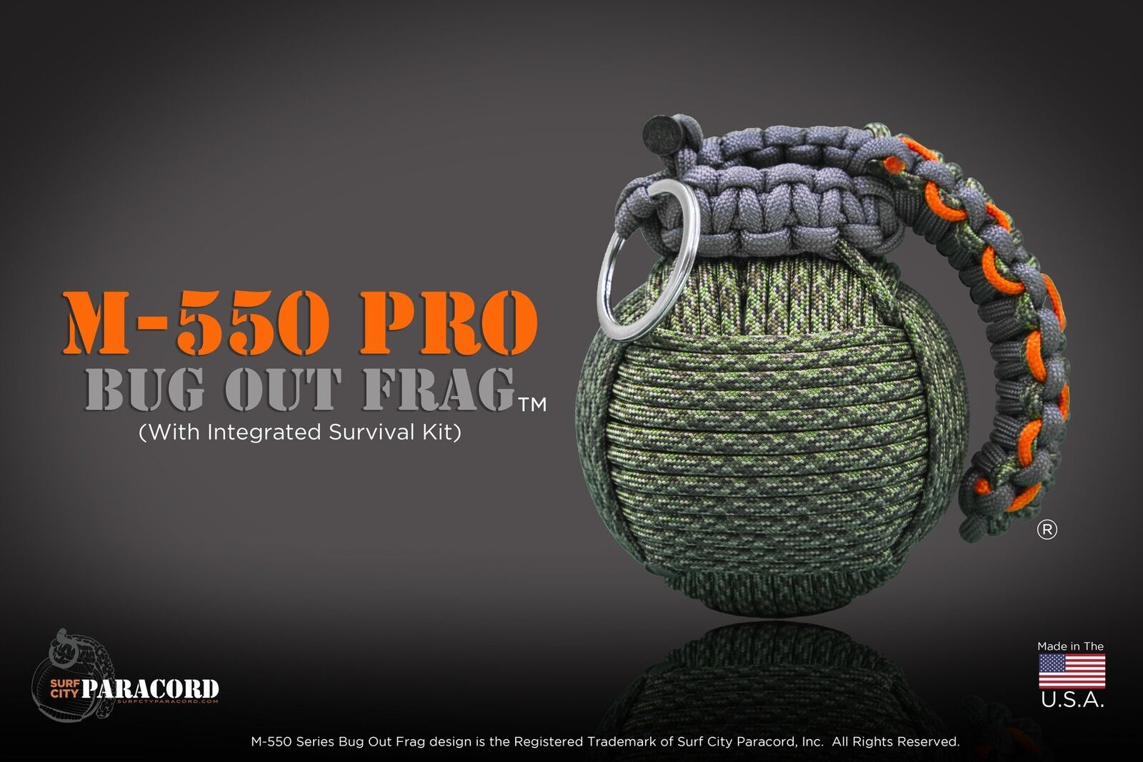 Bug Out Frag  Pro Paracord Survival Kit (Canadian Digital)