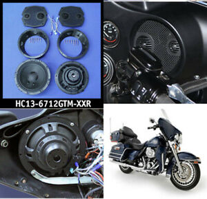 J-amp-M-Rokker-XX-6-71-Fairing-Speaker-Set-Kit-2-Ohm-300-Watts-Harley-Batwing-98