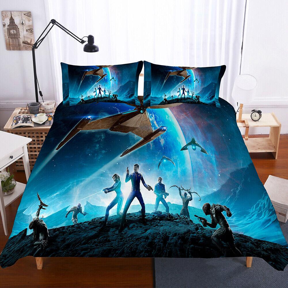 3D Star Trek Beyond Bedding Set 2PC 3PC Of Duvet Cover & Pillowcase-4 US Sizes