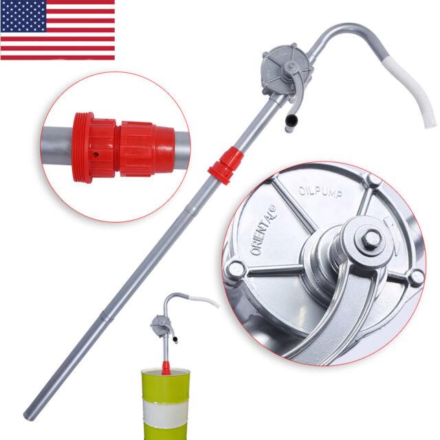 TeraPump Rotary Hand Manual Drum Barrel Pump