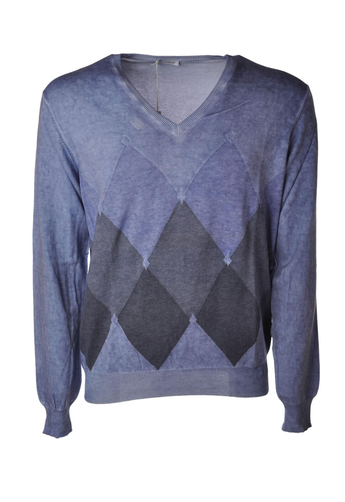 Viadeste  -  Sweaters - Male - Blau - 4664421A180149