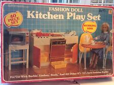 barbie fashion doll arco1994 kitchen play set