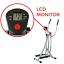 thumbnail 4 - Sunny Health & Fitness SF-E902 Air Walk Trainer Elliptical Machine Glider w/ LCD