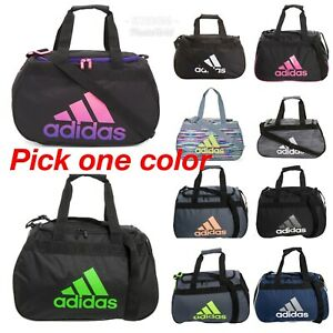 9364581b72 NWT ADIDAS Diablo Small Duffel Gym Bag Travel Bag --Pick Color