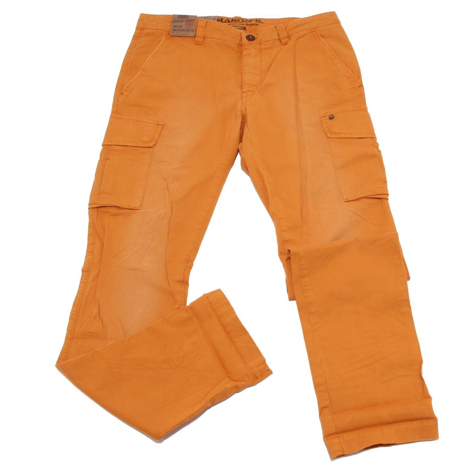 1806W 1806W 1806W pantalone uomo MASON'S arancia cotton trouser pant man c42fba