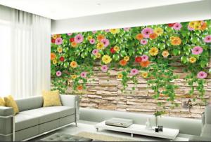 3D greene Rebe Daisy 852 Tapete Wandgemälde Tapete Tapeten Bild Familie DE Summer