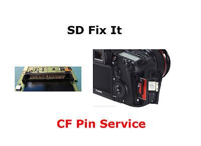 for Canon EOS 50D DSLR Camera 2008 Original CF Memory Card Pin Connector ZVFE410