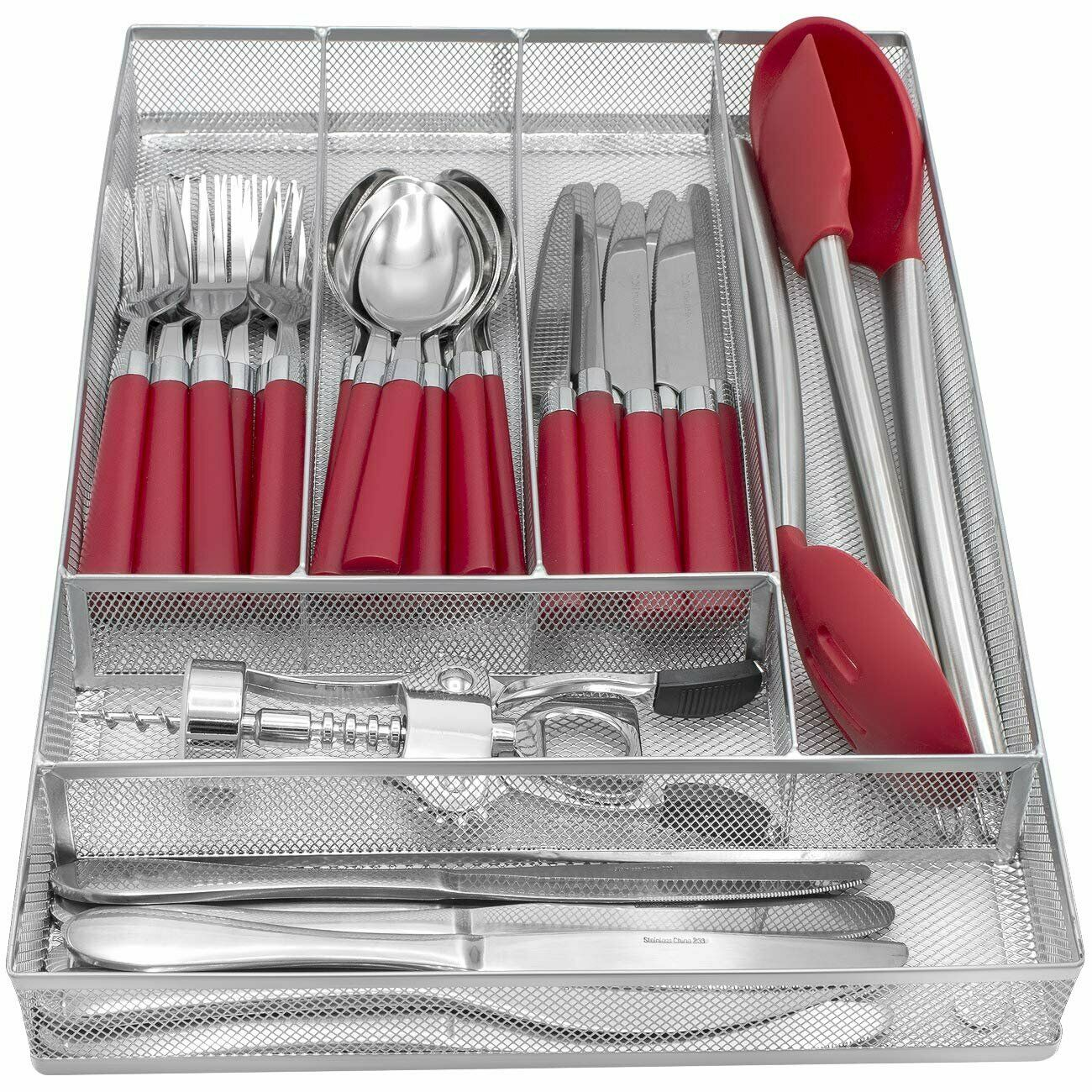 Expandable Cutlery Flatware Drawer Utensil Tray Kitchen Organizer Storage Holder