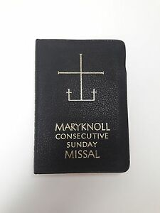 Maryknoll-Consecutivos-Sunday-Missal-por-P-J-Kenedy-amp-Son-1963