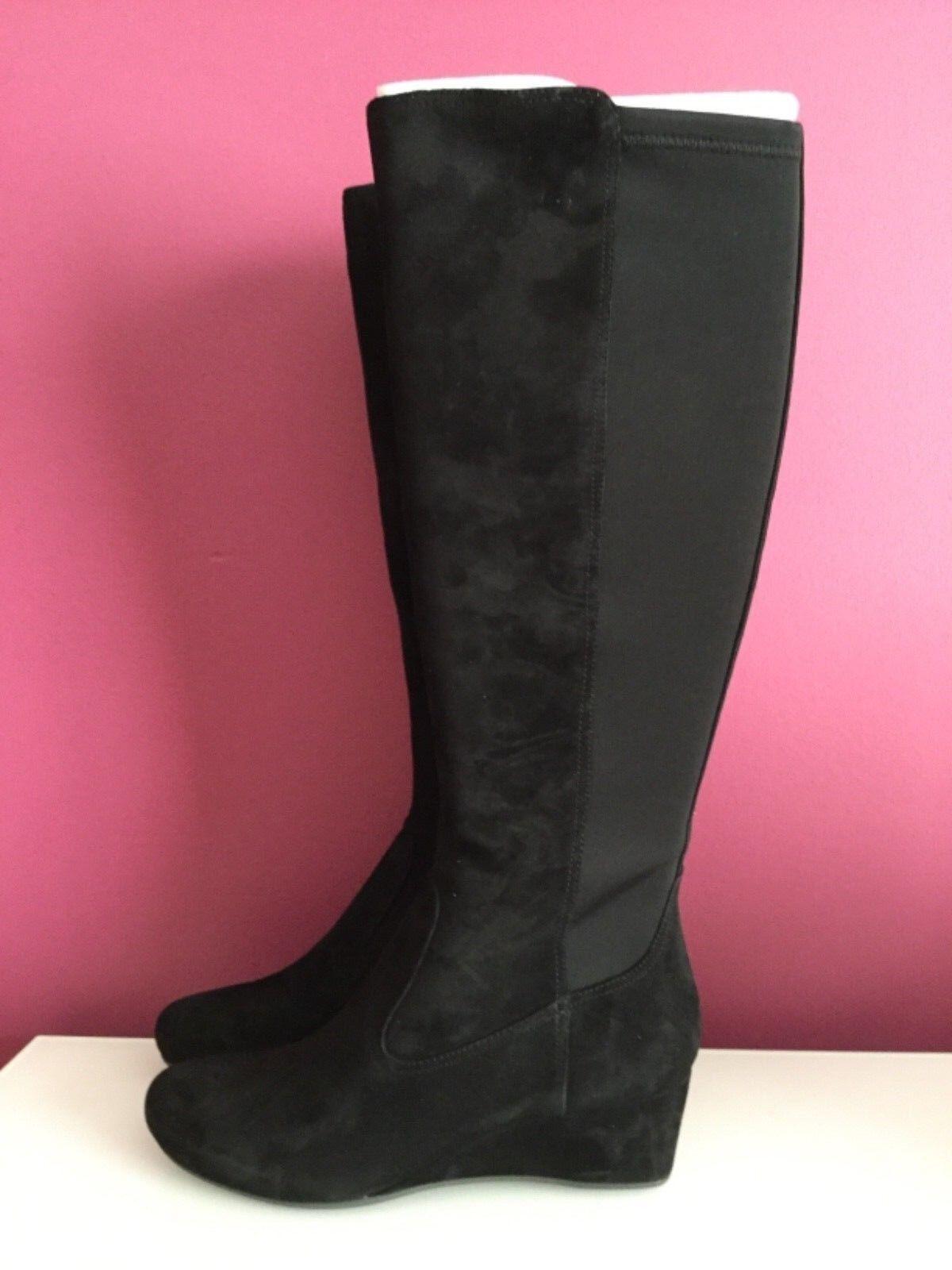 Mujeres Rockport Total Motion 45 mm de alto botas talla 8