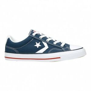 d3eeafed95db Converse Star Player Ox Navy White Womens Trainers UK 5 for sale ...