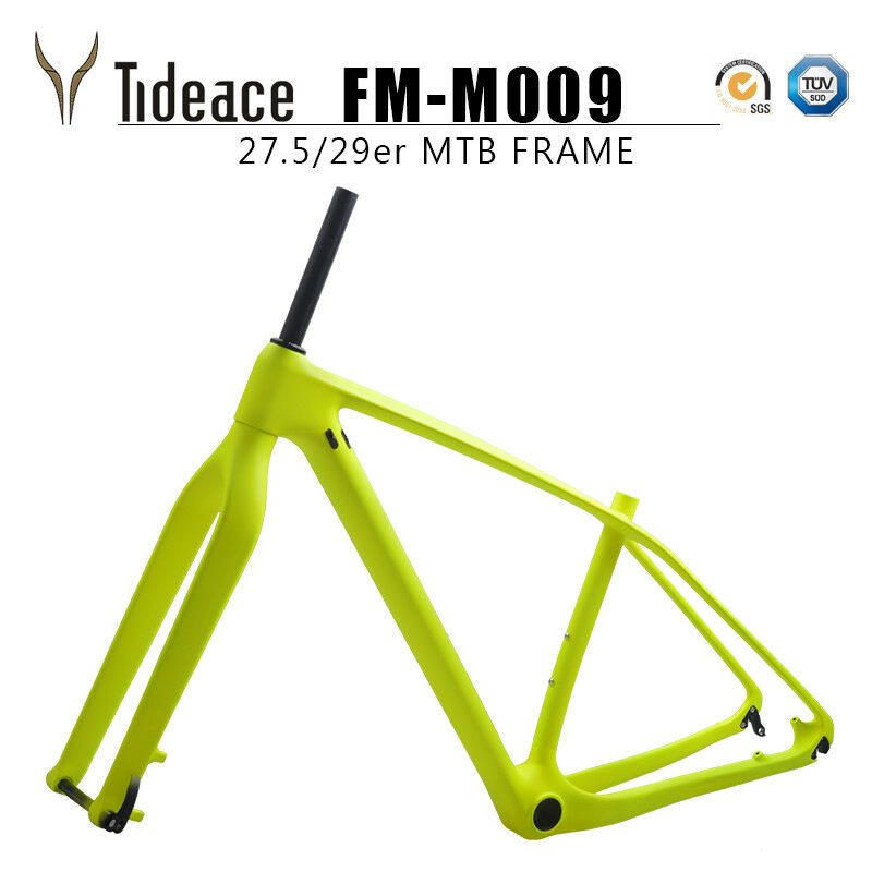 T800 29er Celeste Mountain Bicycle Frame with Fork PF30 Cycling MTB Bike Frames