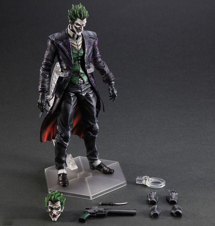 DC PLAY ARTS KAI THE JOKER BATMAN ARKHAM ORIGIN ACTION FIGURES STATUE MODEL TOY