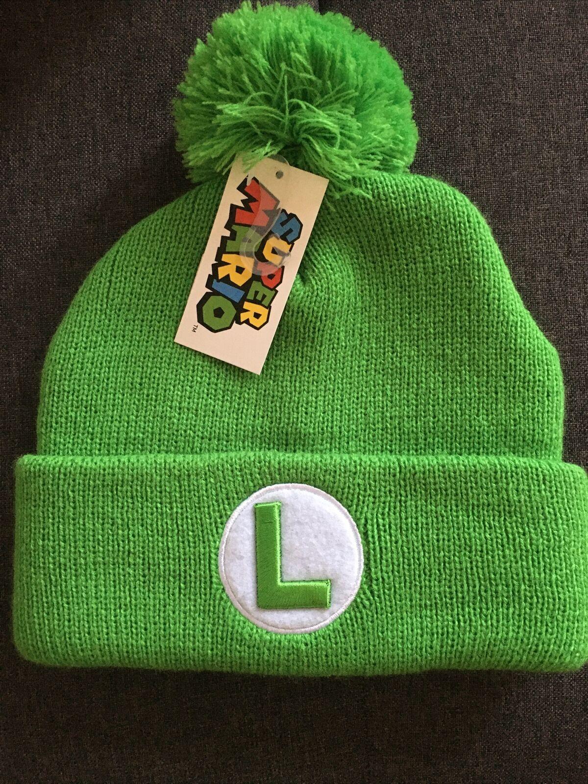 Super Mario Laplander Hat with Ear Flap Black 54cm New Winter